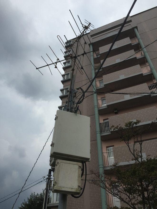 電波障害改善施設の一例